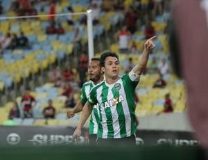 Kléber comemorando gol