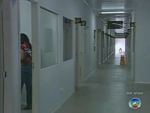 Prédio terá cartório para envolvidos em crime e atendimento especializado (Foto: Reprodução/TV Tem)