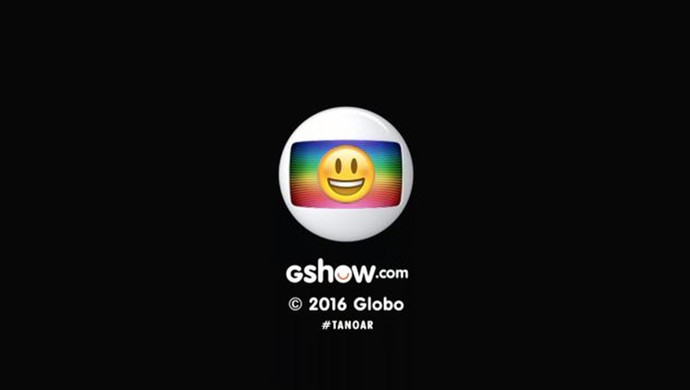 Globo recebe um emoji na logo (Foto: TV Globo)