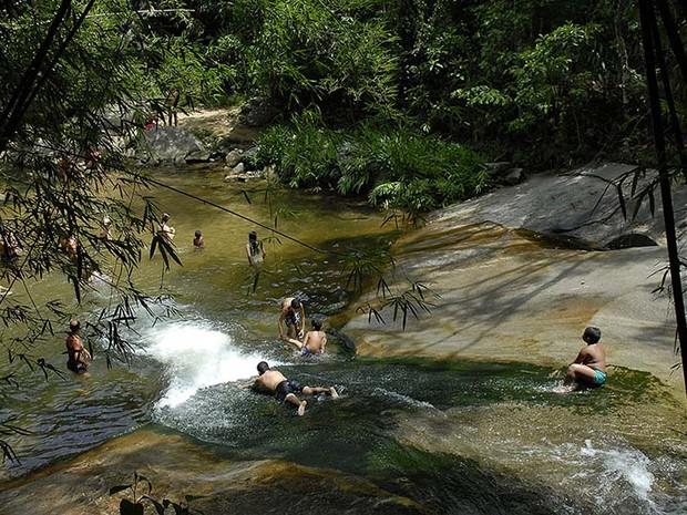 Cachoeiras do Sana, em Macaé, RJ, terão novas regras para visitação (Foto: Érica Ferreira / Divulgação)
