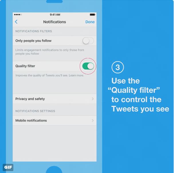 Como ativar o filtro de qualidade do Twitter (Foto: Divulgação)