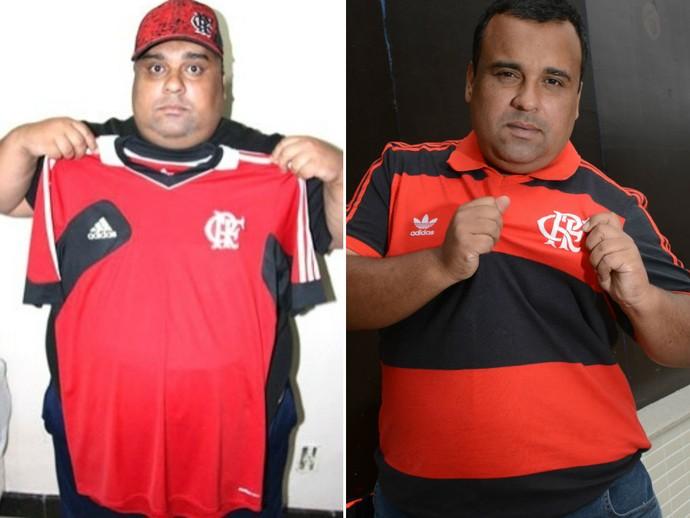fe12af7299629 Capixaba perde mais de 70kg e volta a vestir camisa do Flamengo