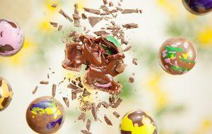 Receita de bombom de chocolate e maracujá