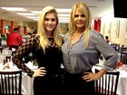 Monique Evans perde 8kg seguindo a dieta da filha: 'Estou vestindo 38'