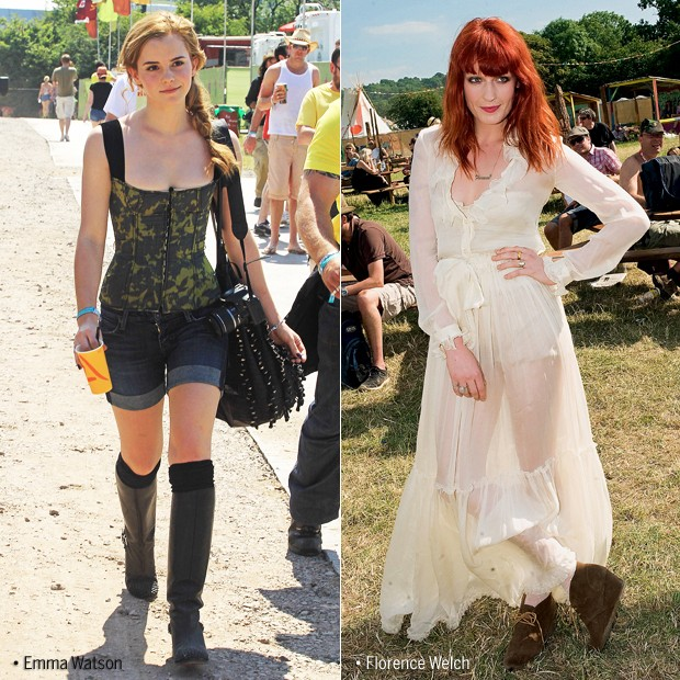 Emma Watson e Florence Welch (Foto: Getty Images)