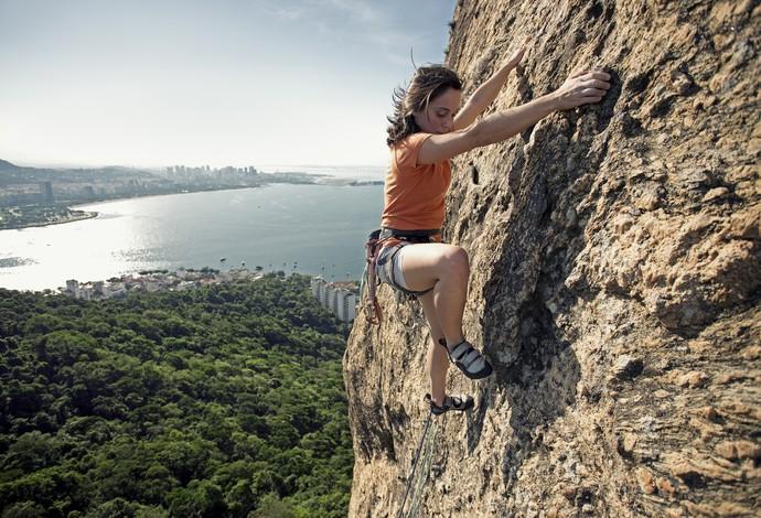 Montanhismo euatleta escalando (Foto: Getty Images)