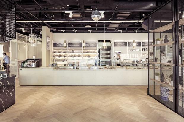 Padaria com design: conheça a nova Beckeria, na Suíça (Foto: Divulgação)