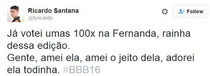 post bbb16 fernanda (Foto: Reprodução Internet)