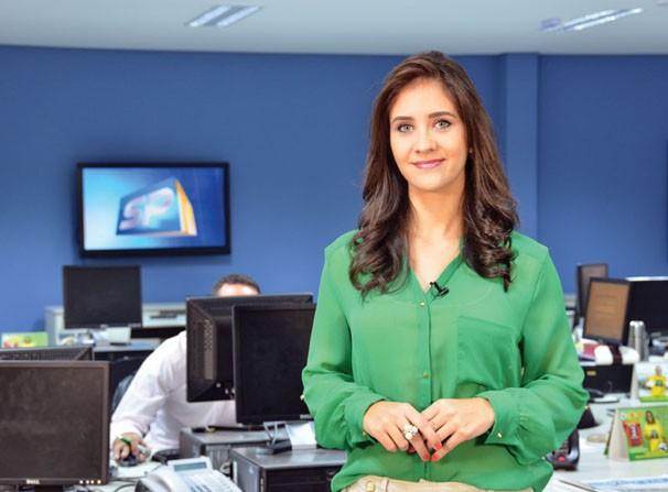 Carla Moreno traz os destaques do SPTV 1ª Edição (Foto: Marketing / TV Fronteira)
