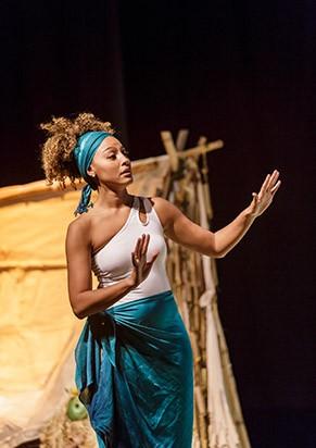Sheron Menezzes como Eva (Foto: Patricia Cecatti)