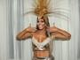 Fabiana Teixeira muda corpo em 16 dias para o Carnaval: 'Mulher biônica'