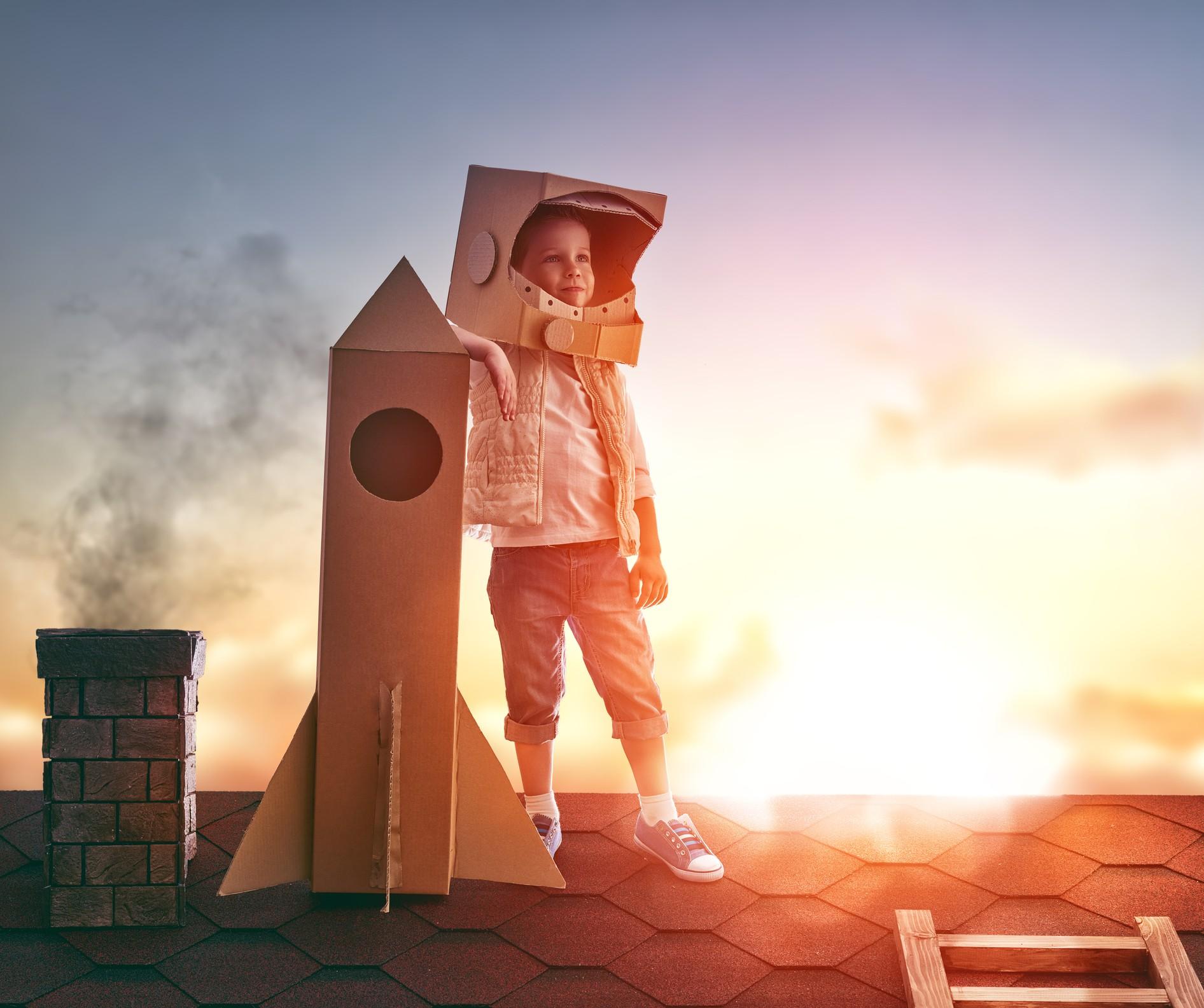 Criatividade infantil é fundamental para o desenvolvimento cerebral  (Foto: Thinkstock)