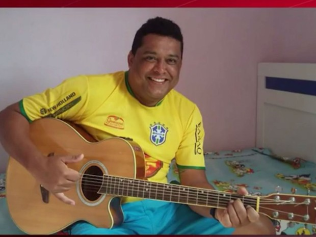 Taxista Marceliano Ramos foi encontrado morto com marcas de tiros na Bahia (Foto: Reprodução/TV Sudoeste)