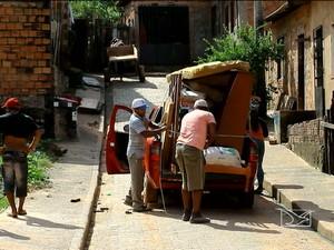 Moradores são expulsos por traficantes no Coroadinho, em São Luís (MA) (Foto: Reprodução / TV Mirante)