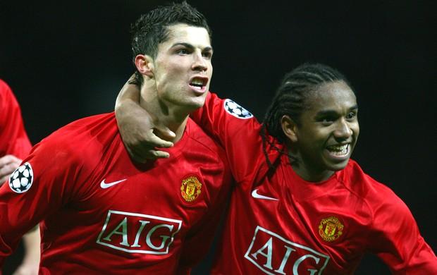 Anderson Cristiano Ronaldo Manchester United (Foto: Getty Images)