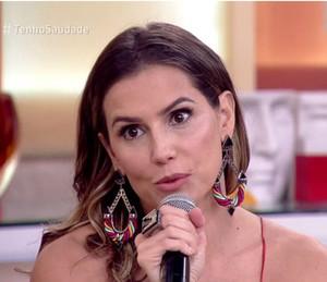 Deborah Secco revela planos para segundo filho (Foto: TV Globo)