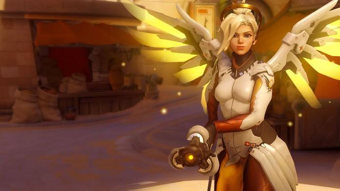 Mercy é melhorada e piorada ao mesmo tempo em Overwatch (Foto: Divulgação/Blizzard)