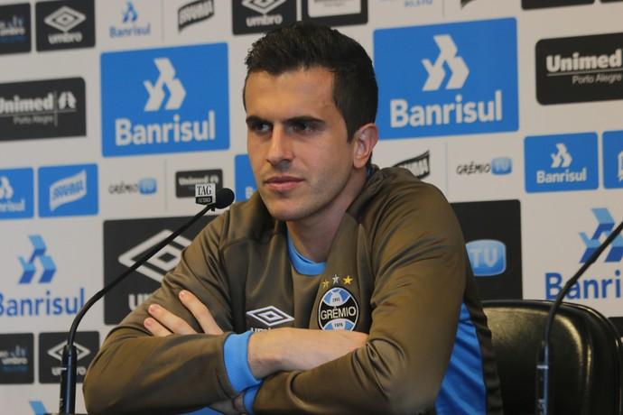 Marcelo Grohe goleiro Grêmio (Foto: Eduardo Moura/GloboEsporte.com)