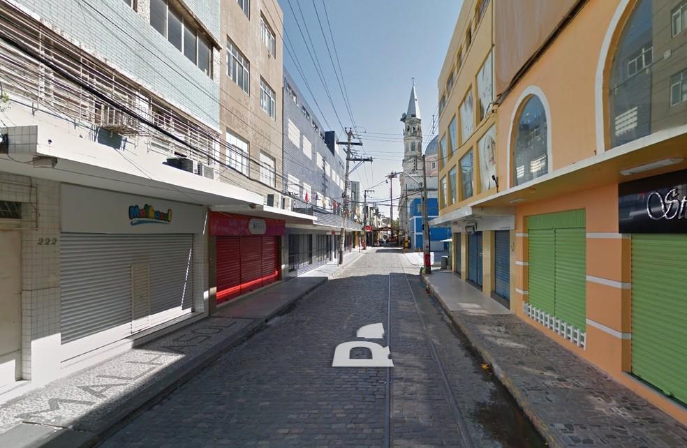 Rua das Calçadas, Recife (Foto: Reprodução/Google Street View)