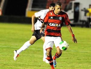 Paulinho jogo amistoso Flamengo São Paulo (Foto: Alexandre Vidal / Fla Imagem)