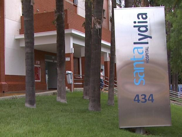 Hospital Santa Lydia em Ribeirão Preto, SP (Foto: Reprodução/EPTV)