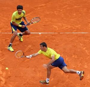 marcelo Melo e Dodig x Bob Bryan  Mike Bryan tenis monte carlo (Foto: Getty Images)
