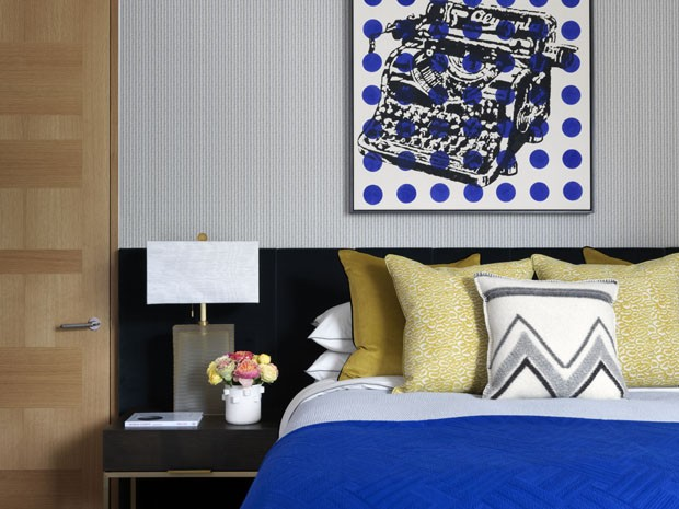 Mix de texturas dita decoração de apartamento Londrino (Foto: Divulgação)