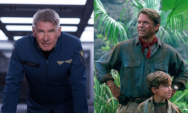 Harrison Ford e Sam Neill (Foto: Reprodução)