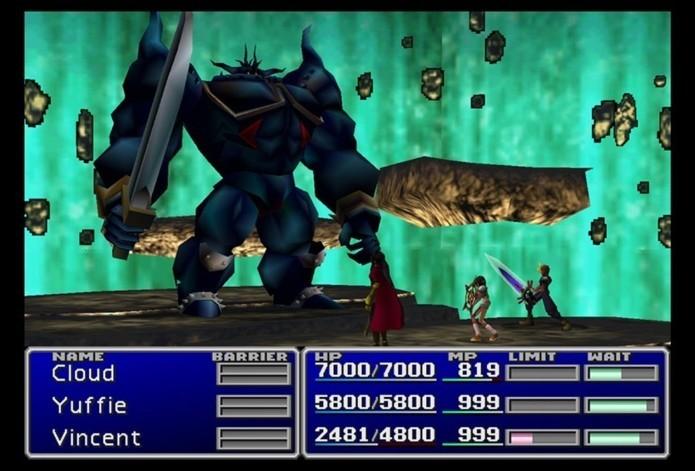 Versão de Final Fantasy 7 trará melhorias e troféus (Foto: Divulgação)