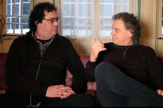 Casagrande e Arrigo Barnabé (Foto: Reprodução)