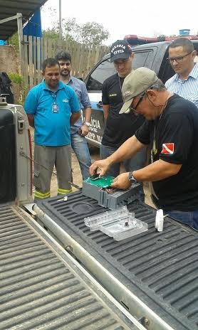 Operação 'Energia Limpa' contou com trabalho de um perito de Belém (Foto: Divulgação/Polícia Civil)