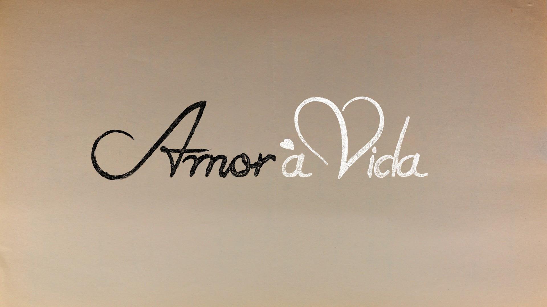Logo Amor à Vida (Foto: TV Globo)