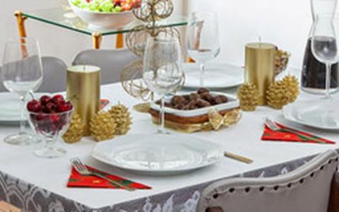 Como decorar a mesa para o Ano Novo: veja fotos