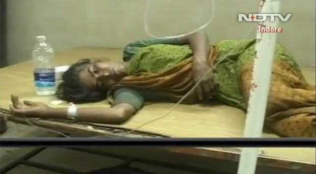 Sita Chauhan, 38, foi internada em um hospital após tentar suicidar-se (Foto: Reprodução)