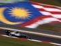 Em treino morno, Mercedes sobra na Malásia, e Hamilton dá troco em Nico
