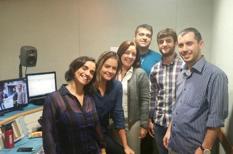 Time da GloboNews recebe ajuda de tradutores turcos (Foto: Divulgação)