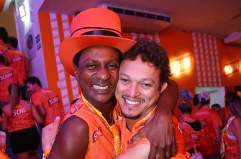 Luís Miranda e Fábio Lago (Foto: Cleomir Tavares)