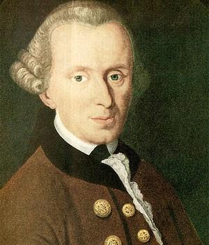 Dupla discutiu por causa das  teorias do filósofo Immanuel Kant  (Foto: Wikimedia Commons)