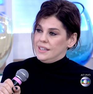Bárbara Paz comenta falta de privacidade (Reprodução/ TV Globo)