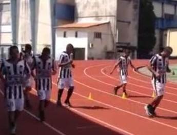 Primeiro treino do Sao Raimundo em Belém (Foto: Divulgação/ São Raimundo F.C.)