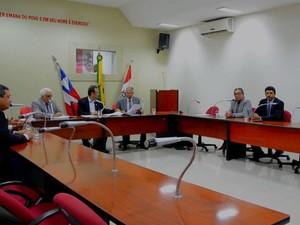 Vereadores de Paulo Afonso aprovaram reajuste de salários (Foto: Reprodução/TV Bahia)