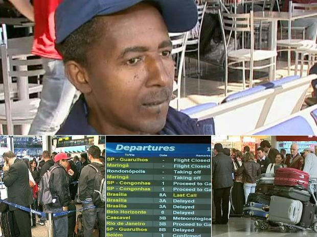 Aeroporto Afonso Pena (Foto: Reprodução/RPC TV)