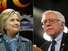 Hillary e Sanders disputam prévias em três estados neste sábado