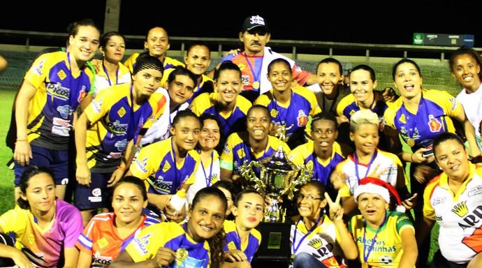 Abelhas Rainhas campeãs da Copa Piauí Feminino (Foto: Josiel Martins )