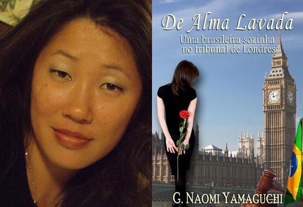 Naomi Yamaguchi resolveu lançar um livro relatando sua experiência nos tribunais na Inglaterra (Foto: Arquivo pessoal / Divulgação)