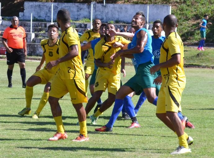 Rio Branco-ES x Vilavelhense, jogo-treino (Foto: Sidney Magno Novo/GloboEsporte.com)