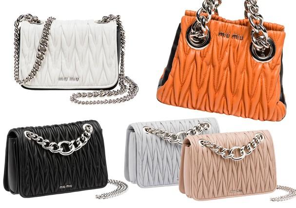 71bb3a7c43854 Mood clubber invade a Miu Miu Club, nova coleção de bolsas da Miu Miu -  Vogue   Moda