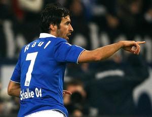 raul schalke 04 gol wolfsburg (Foto: Agência Reuters)