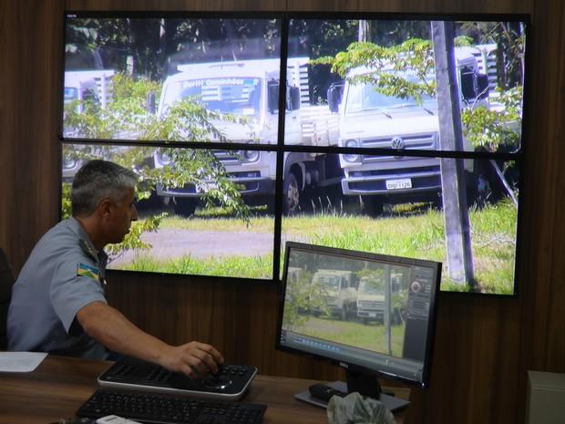 Polícia Militar se utilizará de câmeras para melhorar segurança em Cacoal (Foto: Magda Oliveira Rocha)