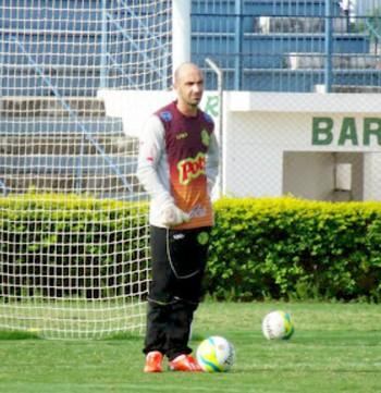 Goleiro Yuri, do Mirassol (Foto: Vinicius de Paula / Ag. Mirassol FC)